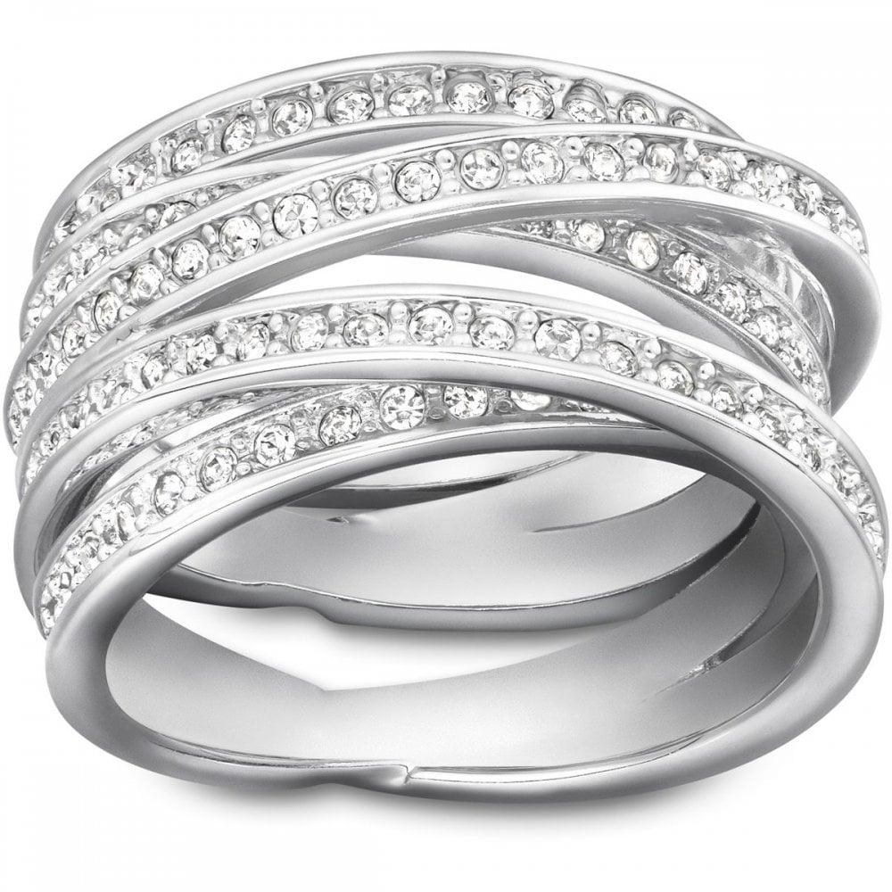 b4831ff2e8c2 Spiral Ring White 1156305