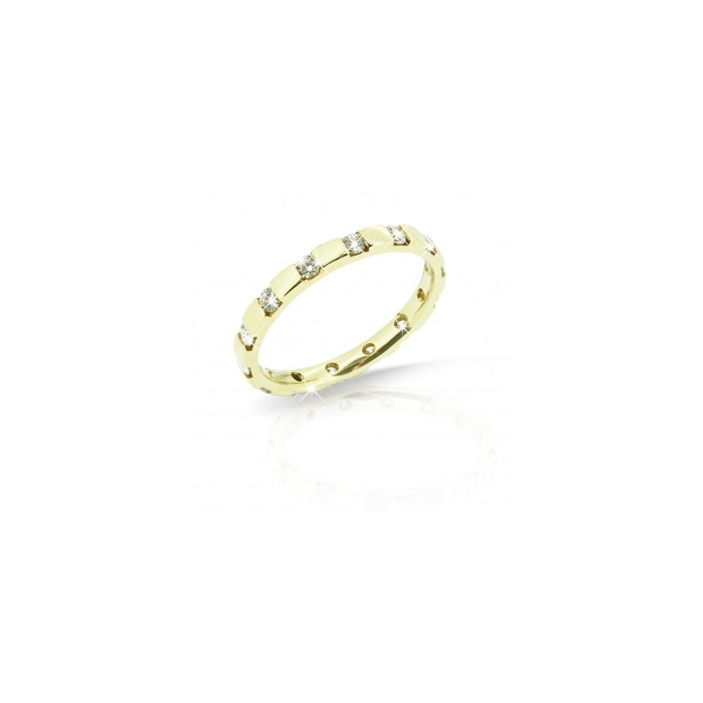 Jewellery Yellow Mcn Fine Eternity Full Gold 18ct Ring QxtCshdrB
