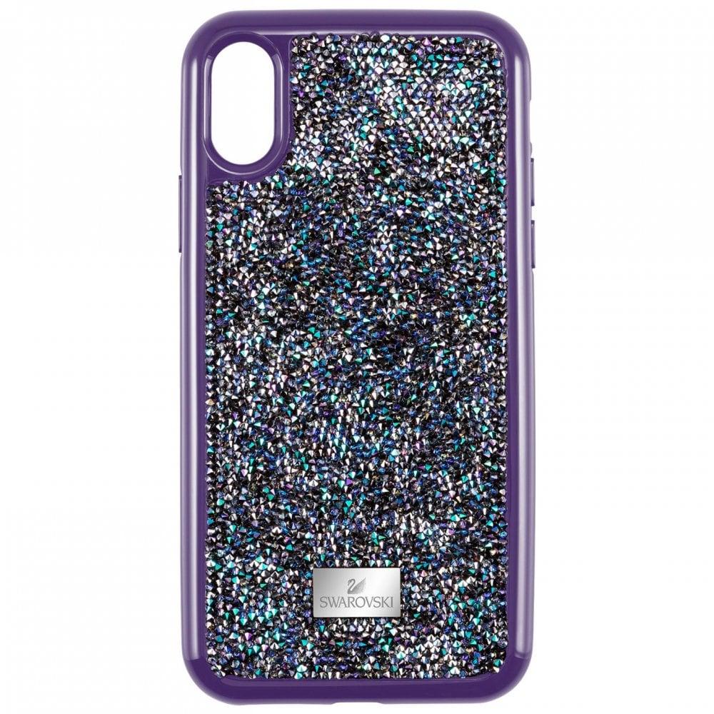 premium selection 44834 39fb7 Swarovski Swarovski Glam Rock Purple Iphone XR Case 5478874