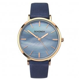 f2a33a861586 Sekonda Editions Ladies Blue Watch 2559