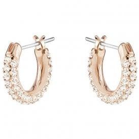 f83ed7f10 Swarovski Stone Pierced Pink Earrings 5446008